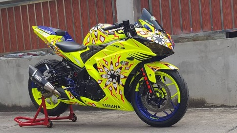 Yamaha R3 độ độc đáo với phiên bản 2 trong 1