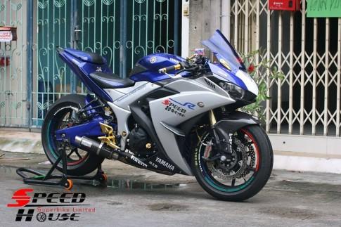 Yamaha R3 do pha cach day tinh te tai Speed House