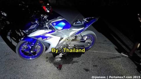 Yamaha R3 tai nan dau tien tai Thai Lan