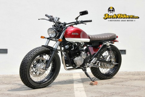 Yamaha Scorpio do Tracker danh cho tin do me xe co
