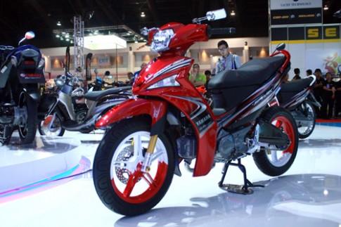Yamaha Spark 115i (Sirius 2014) phong cách của một chiếc xe đua