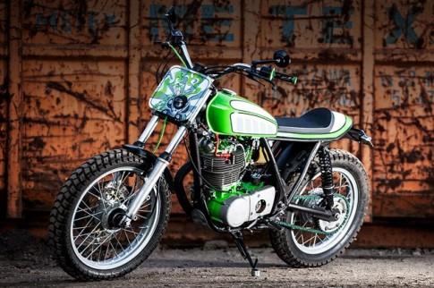 Yamaha SR500 với phiên bản độ Tracker cực ngầu