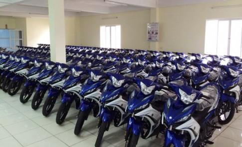 Yamaha Thai Binh dat 92 chiec Exciter 2014 gan dan ao 2011