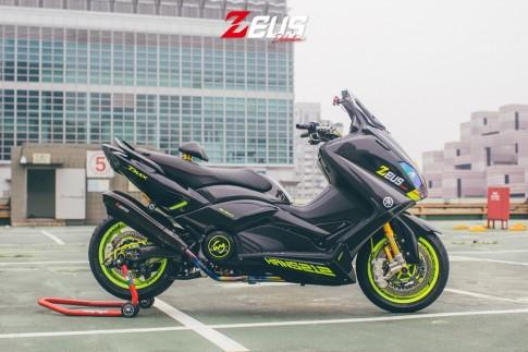 Yamaha TMax độ siêu chất với phiên bản Zeuslightning