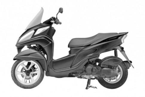 Yamaha Tricity chuẩn bị ra mắt phiên bản mới
