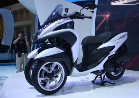 Yamaha Tricity xe tay ga 3 banh cho thanh pho