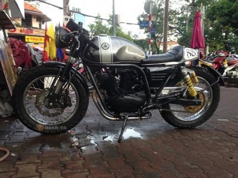 Yamaha Virago 125 do phong cach Cafe Racer tai Sai Gon