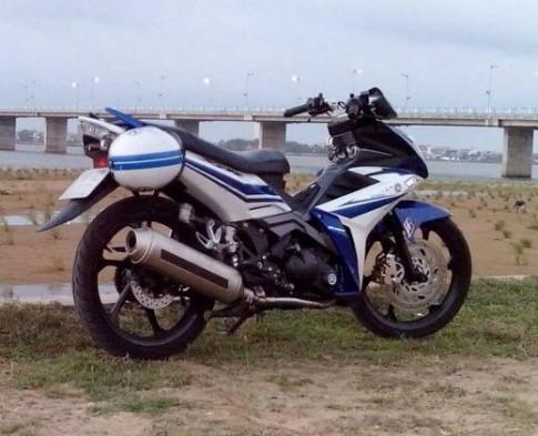 Yamaha X1R độ độc với pô 4Road