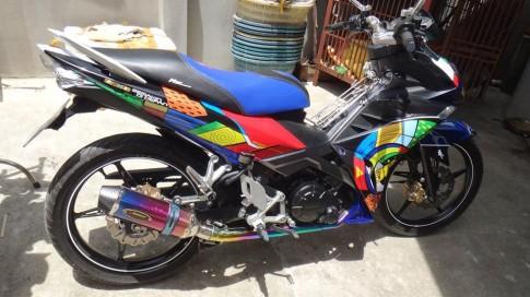 """Yamaha X1R Phien ban """"Tac ke hoa"""" trinh dien ca nha"""
