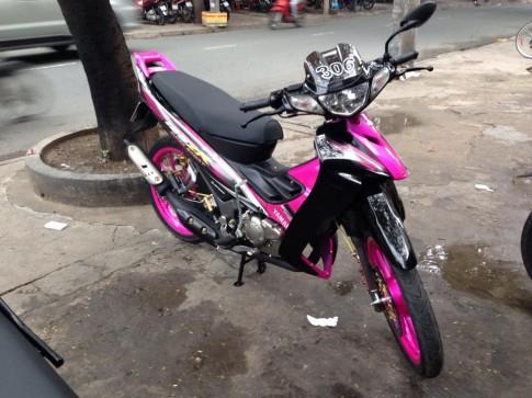 Yamaha Z125 306 den hong xinh tuoi