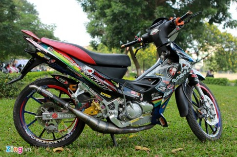 Yamaha Z125 do gia tri hon 200 trieu tai Ha Thanh