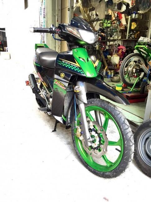 Yamaha Z125 do sanh dieu va noi bat cua dan choi Viet