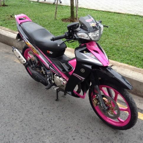Yamaha Z125 hong canh sen rao ban gia 130 trieu