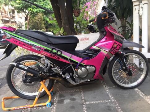 Yamaha Z125 phong cach Go