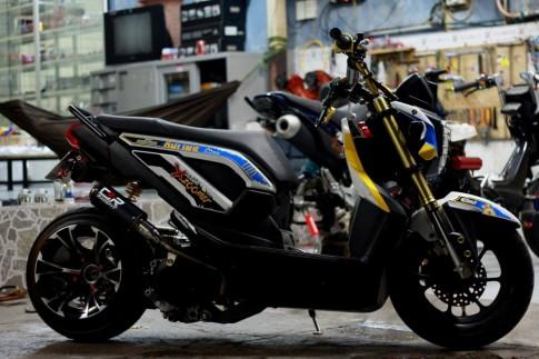 Zoomer X phiên bản hàng hiệu của biker