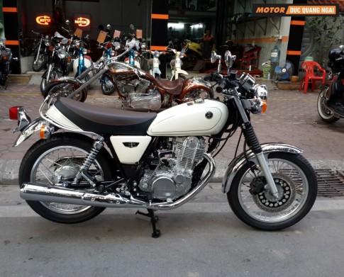 Ban Yamaha SR400 - Don gian, nguyen thuy nhung tinh te