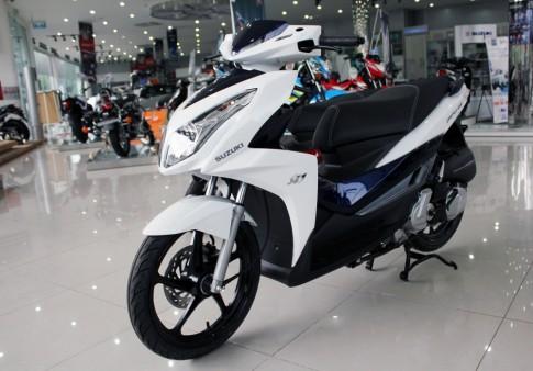 Bang gia xe Suzuki 2016 moi nhat: Raider 150, Axelo, Hayate..