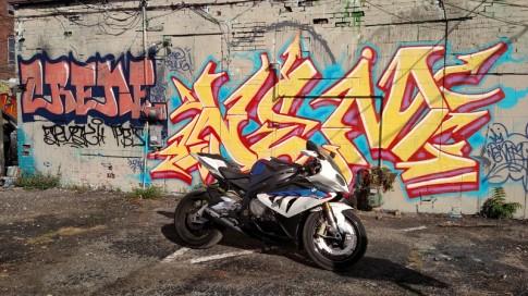 Bộ ảnh đẹp của BMW S1000RR theo phong cách Grafity