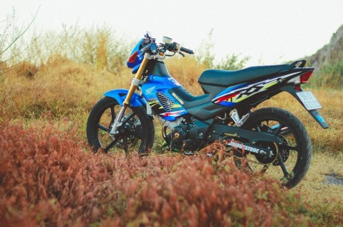 Bo anh Sonic 125 do khung chao don noel