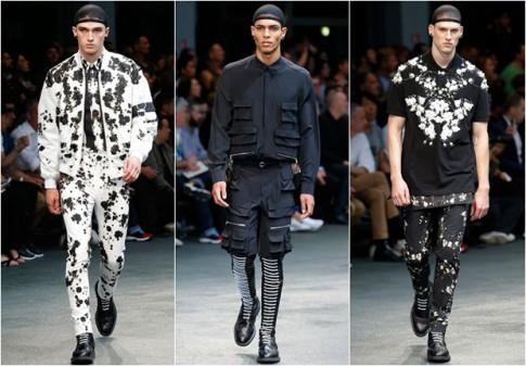 Bộ sưu tập nam Xuân Hè 2015 của Givenchy
