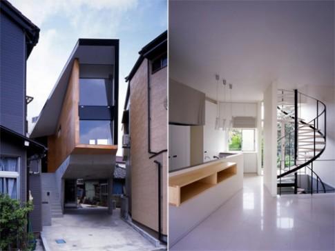 Các ngôi nhà siêu nhỏ kiểu Nhật