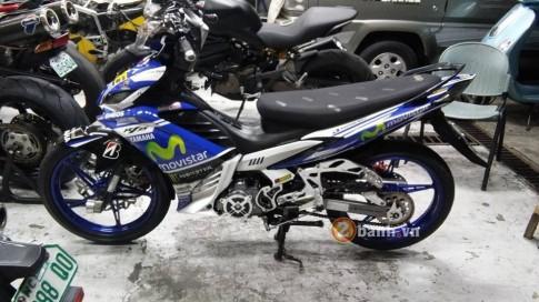 Chiec Exciter 135 do Movistar den tu biker nuoc ban