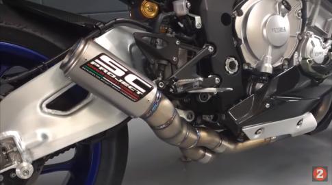[Clip] Yamaha R1M đầy uy lực với pô SC Project