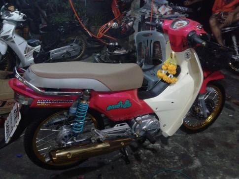 Don kieng em dream 125cc dep lung linh