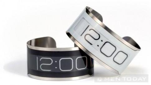 Đồng hồ sử dụng công nghệ E Ink mỏng nhất thế giới