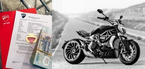 Ducati XDiavel 2016 dau tien chuan bi ve Viet Nam voi gia du doan tren 1 ty dong