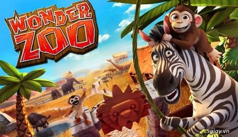 Hack Wonder Zoo Full Coin - game mo phong xay dung vuon thu tren Android khong can root