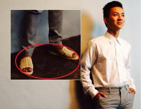 """Hoai Lam gay """"sot"""" cu dan mang vi """"dien""""… dep to ong chup hinh thoi trang"""