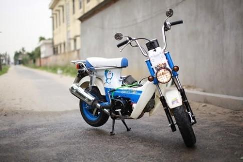 Honda Chaly 130 phân khối đầy năng động với phiên bản Doreamon