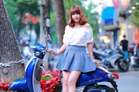 Honda Giorno 2015 mau xe tay ga danh cho nu sinh Viet