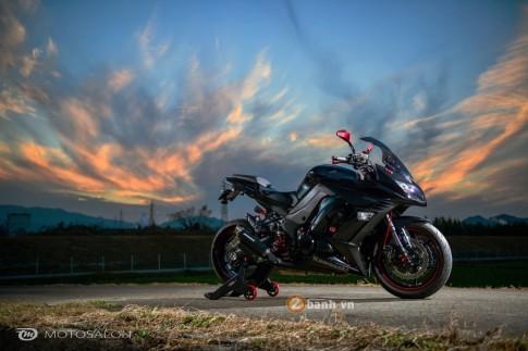 Kawasaki Z1000 phien ban tourer do day phong cach