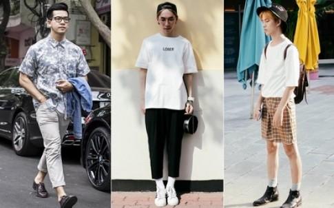 "Khi con trai hai mien Nam-Bac ""do"" street style ngay he"