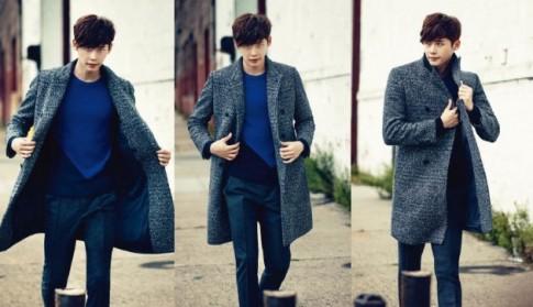 Mix áo khoác nam dáng dài phong cách Hàn Quốc