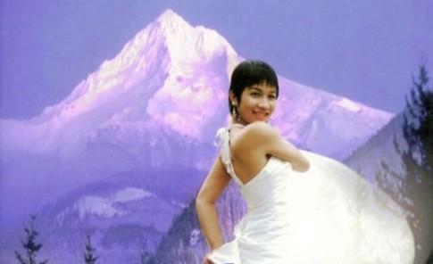 Nhan sac My Linh bien doi qua 20 nam