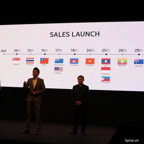 Samsung Galaxy Note 4 sẽ ra mắt tại Việt Nam vào 24/10