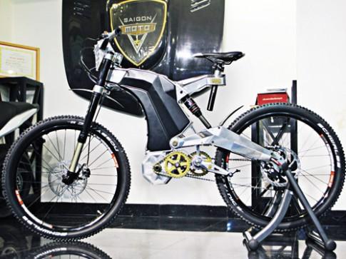Siêu xe đạp điện trị giá 750 triệu VNĐ