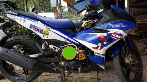 Su phoi hop loc noi SPM made in Indonesia va nap nhot Racingboy