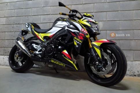Suzuki GSX-S1000 cực chất với phiên bản độ đầy phong cách