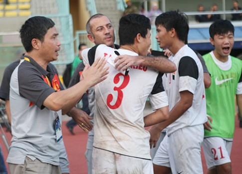 U19 Viet Nam mung ve du vong chung ket