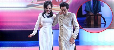 Viet Huong mang guoc khung de 'chat chem' sieu mau Xuan Lan