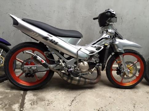 Yamaha 125ZR len do choi hang hieu