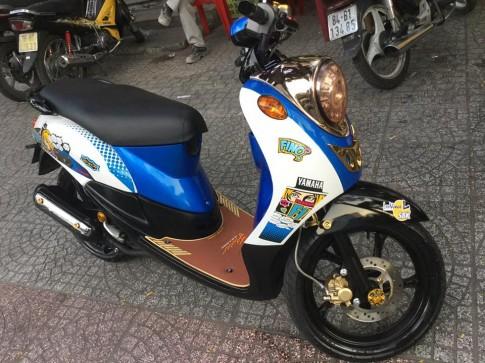 Yamaha mio classico ve be ngoai nu tinh nay con dau