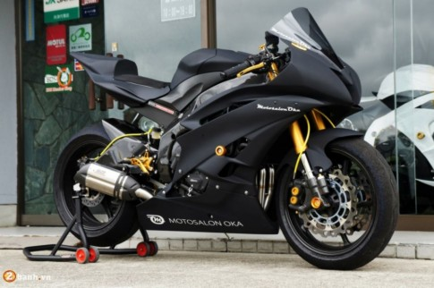 Yamaha R6 siêu chất với phiên bản độ Racing