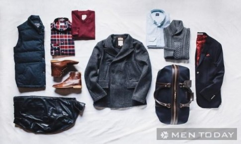 10 items thời trang nam giới nên sở hữu mùa thu đông 2013