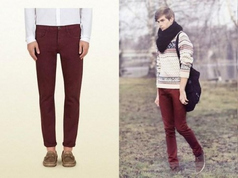 10 món đồ màu burgundy cho mùa đông này