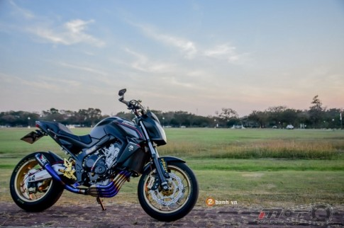 13/2 8h [PKL] Honda CB650F cực ngầu và phong cách của dân chơi